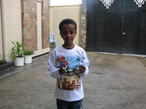 The day we met Mesfin.